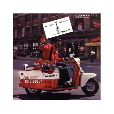 Bo Diddley – Have Guitar, Will Travel - LP Vinyl