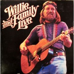Willie Nelson ‎– Willie And Family Live - Double LP Vinyl