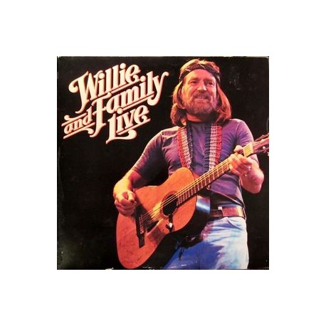 Willie Nelson – Willie And Family Live - Double LP Vinyl