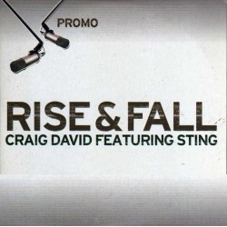 Craig David Featuring Sting ‎– Rise & Fall - CD Single Promo