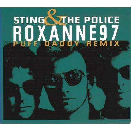 Sting & The Police – Roxanne '97 (Puff Daddy Remix) - CD Maxi Single - Digipak