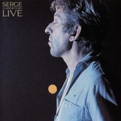 Serge Gainsbourg ‎– Live - Double Vinyl LP