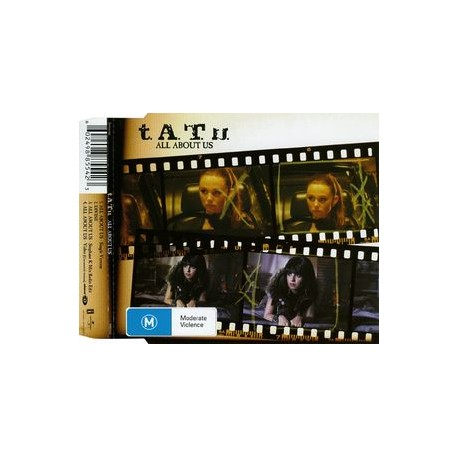 t.A.T.u. ‎– All About Us - CD Maxi Single