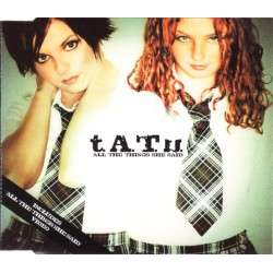 t.A.T.u. ‎– All The Things She Said - CD Maxi Single Promo