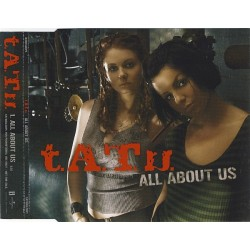 t.A.T.u. ‎– All About Us - CD Maxi Single Promo