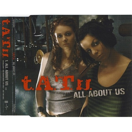 t.A.T.u. – All About Us - CD Maxi Single Promo