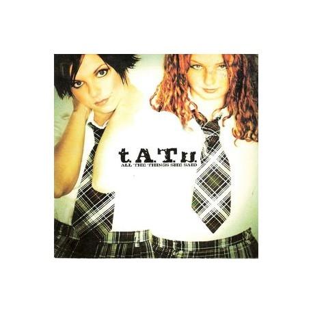 t.A.T.u. – All The Things She Said - CD Single