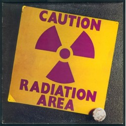 Area - Caution Radiation Area - LP Vinyl