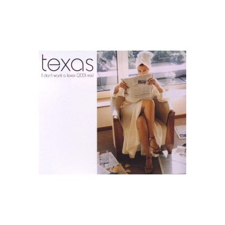 Texas -  I Don't Want A Lover (2001 Mix) - CD Single
