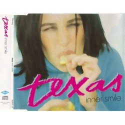 Texas ‎– Inner Smile - CD Maxi Single Promo