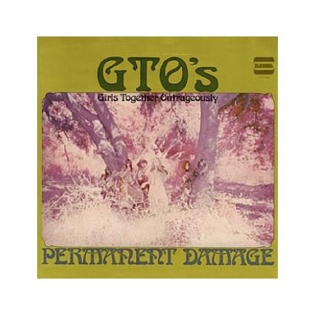GTO's – Permanent Damage - LP Vinyl