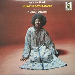 Alice Coltrane Featuring Pharoah Sanders ‎– Journey In Satchidananda - LP Vinyl