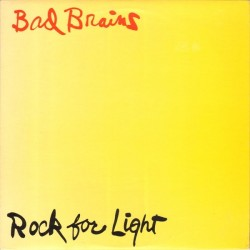 Bad Brains ‎– Rock For Light - LP Vinyl