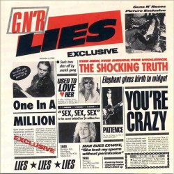Guns N' Roses ‎– G N' R Lies - LP Vinyl