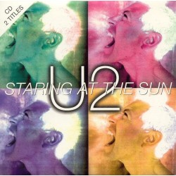 U2 ‎– Staring At The Sun - CD Single