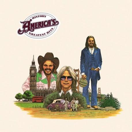 America – History - America's Greatest Hits LP Vinyl