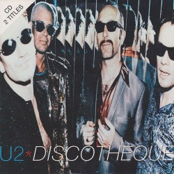 U2 ‎– Discothèque - CD Single