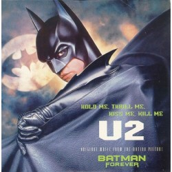 U2 ‎– Hold Me, Thrill Me, Kiss Me, Kill Me (Original Music From The Motion Picture Batman Forever) - CD Single
