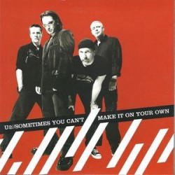 U2 ‎– Sometimes You Can't Make It On Your Own - CD Single