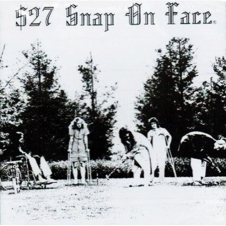 $27 Snap On Face ‎– Heterodyne State Hospital - LP Vinyl Gatefold