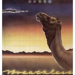 Camel – Breathless LP Vinyl Spain Pressing