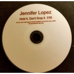 Jennifer Lopez - Hold it, Don't Drop It - CDr Single Promo