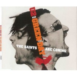 U2 And Green Day ‎– The Saints Are Coming - CD Maxi Single