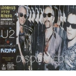 U2 ‎– Discotheque - CD Maxi Single with OBI