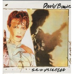 David Bowie ‎– Scary Monsters - LP Vinyl Coloured Blue