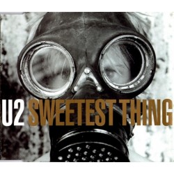 U2 ‎– Sweetest Thing  - CD Maxi Single Promo