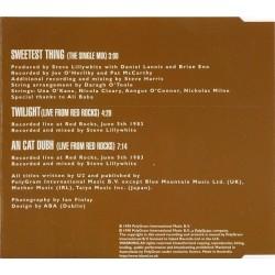 U2 – Sweetest Thing - CD Maxi Single