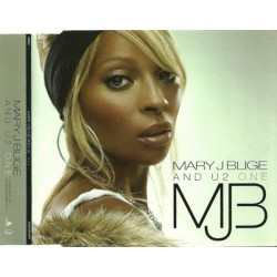 Mary J Blige And U2 ‎– One - CD Maxi Single Promo