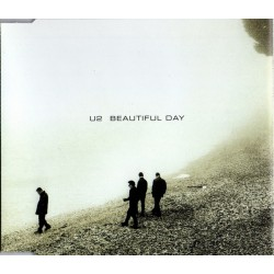 U2 ‎– Beautiful Day - CD Maxi Single Promo