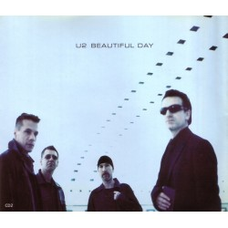 U2 ‎– Beautiful Day - CD Maxi Single