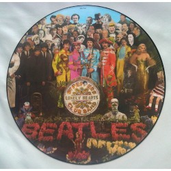 The Beatles ‎– Sgt.Peppers Lonely Hearts Club Band LP Vinyl Picture Disc