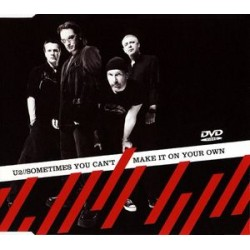 U2 – Sometimes You Can't Make It On Your Own - DVD Single Australia