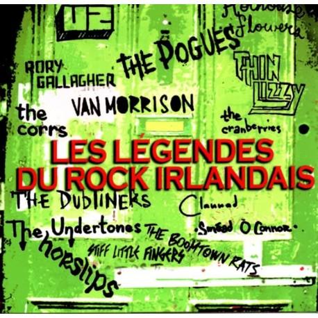 U2 - Les Légendes Du Rock Irlandais - CD Album - Compilation