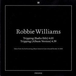 Robbie Williams ‎– Tripping - CD Single Promo