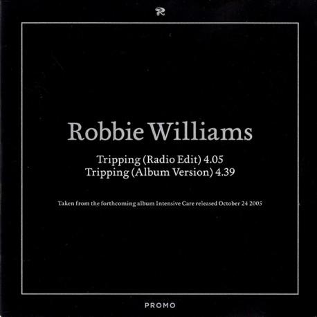 Robbie Williams – Tripping - CD Single Promo