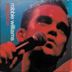 Robbie Williams ‎– Supreme  CD Single France