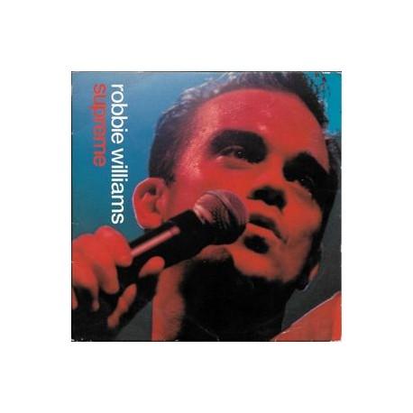 Robbie Williams – Supreme  CD Single France