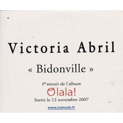 Victoria Abril - Bidonville - CD Single Promo