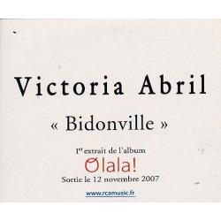 Victoria Abril - Bidonville - CD Single Promo