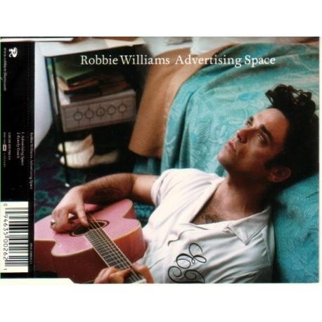 Robbie Williams – Advertising Space - CD Maxi Single Australia