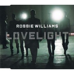 Robbie Williams ‎– Lovelight - CD Maxi Single Europe