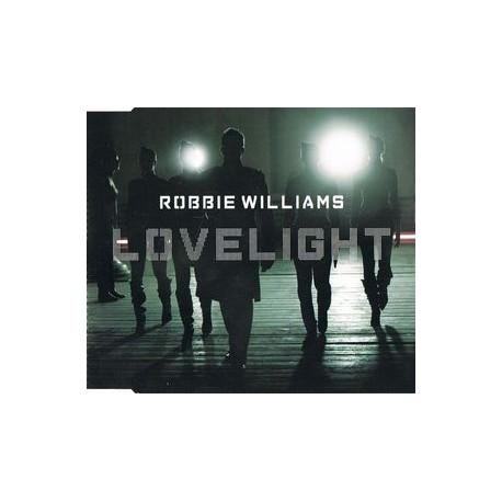Robbie Williams – Lovelight - CD Maxi Single Europe
