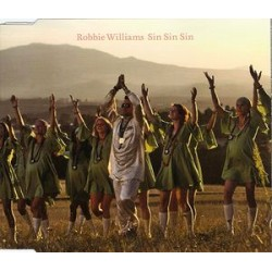 Robbie Williams ‎– Sin Sin Sin - CD Maxi Single Australia