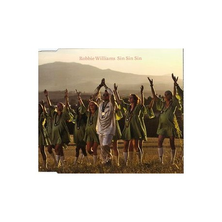 Robbie Williams – Sin Sin Sin - CD Maxi Single Australia