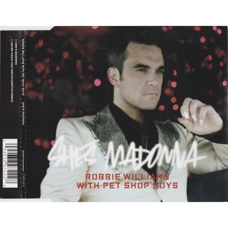 Robbie Williams With Pet Shop Boys – She's Madonna - CD Maxi Single