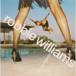 Robbie Williams ‎– No Regrets - Antmusic - CD Maxi Single